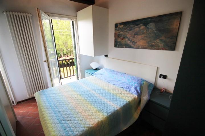 Camera n. 1 con balcone e bagno privato
